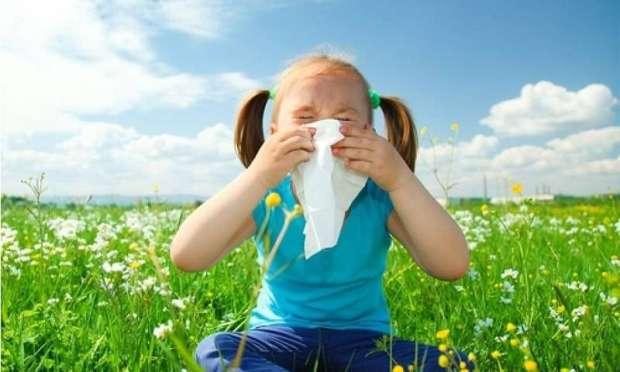 Çocuk ve polen alerjisi