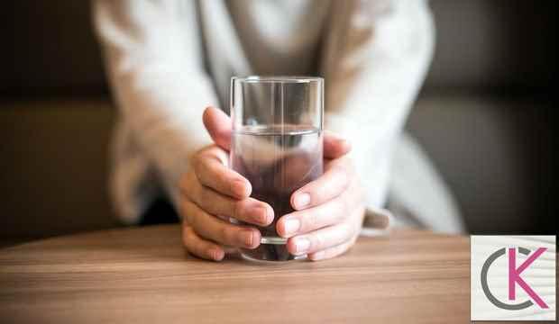 Grip olunca su içmek